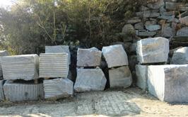 牛岩青石の豊富なストックがあります。